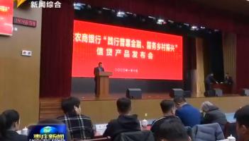 枣庄农商银行:践行普惠金融 服务乡村振兴