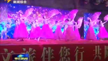 枣庄市第五届群众文化艺术节开幕式举行